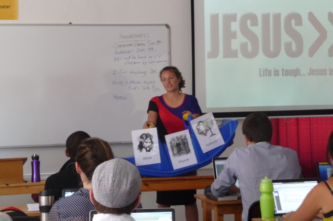 Teaching the book of Hebrews in Muizenberg, South Africa