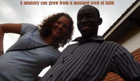 Innocent & I started Redefined each with a mustard seed of faith.