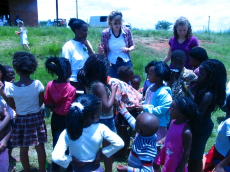 On DTS outreach in South Africa, 2008